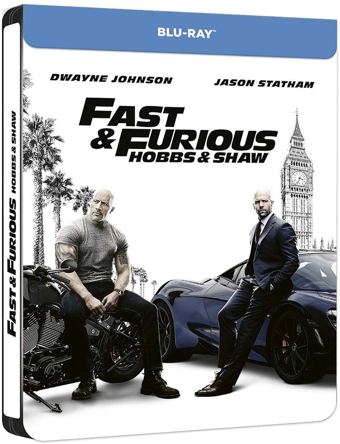 Le blu-ray de Hobbs and Shaw