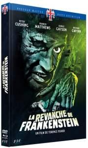 La revanche de Frankenstein, jaquette du Mediabook