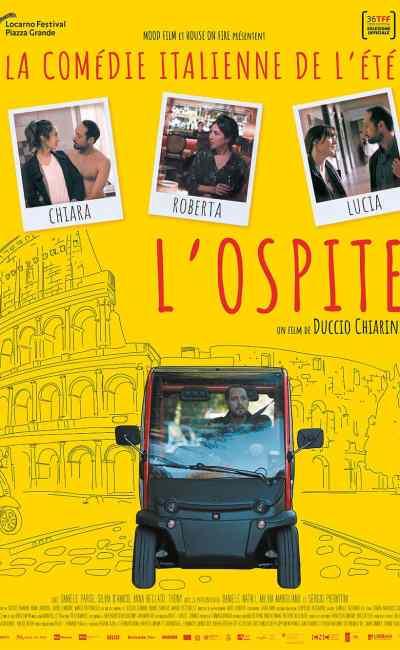 L'ospite de Duccio Chiarini, affiche fantaisiste