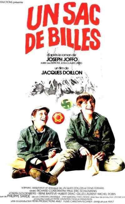 Un sac de billes de Jacques Doillon, l'affiche originale