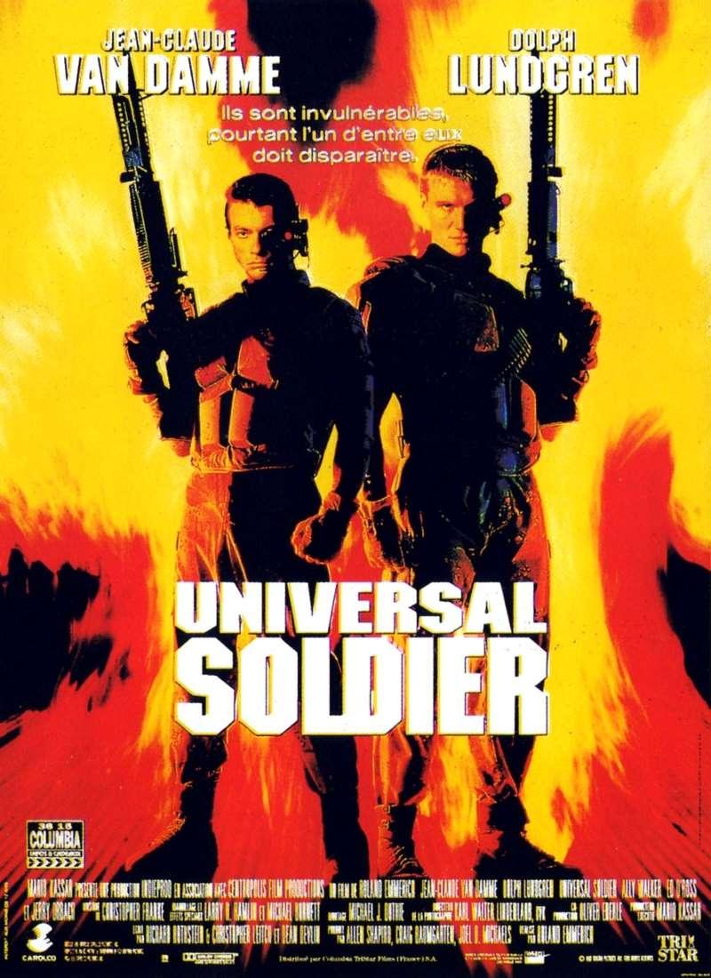 Universal soldier, l'affiche française