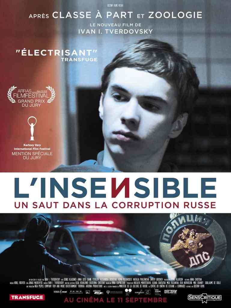 Affiche du film l'Insensible