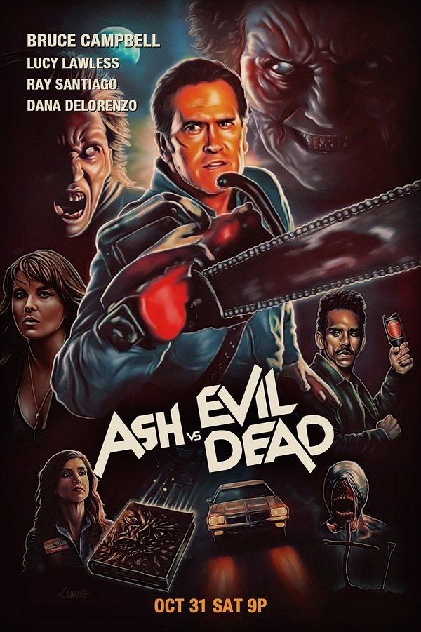 Ash vs evil dad en mode promo sur Starz