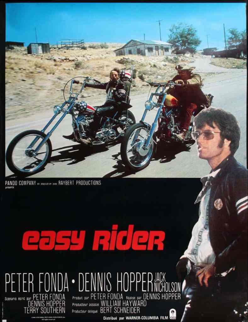Affiche française de Easy Rider de Dennis Hopper