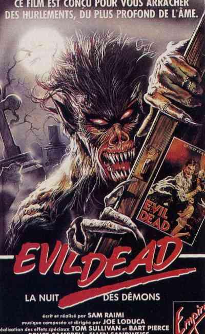 Jaquette vidéo alternative Evil Dead