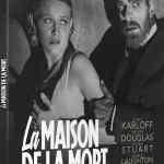 Artwork / Cover de La maison de la mort (blu-ray Carlotta)