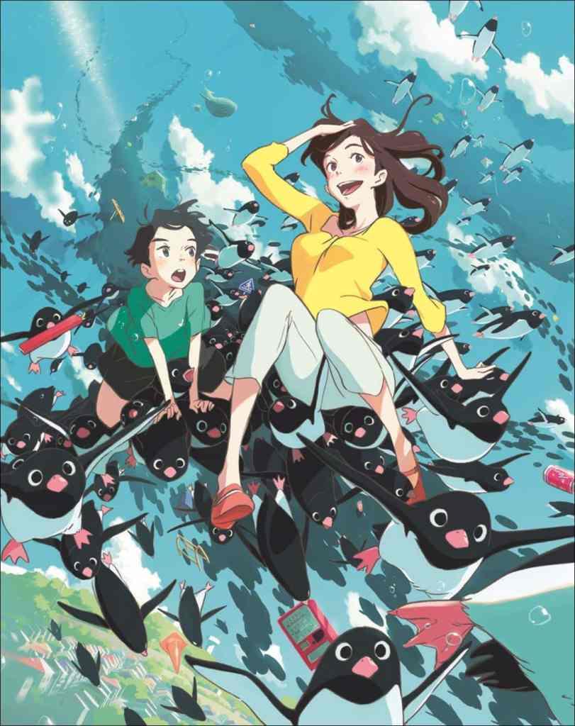 Le mystère des pingouins - affiche du film