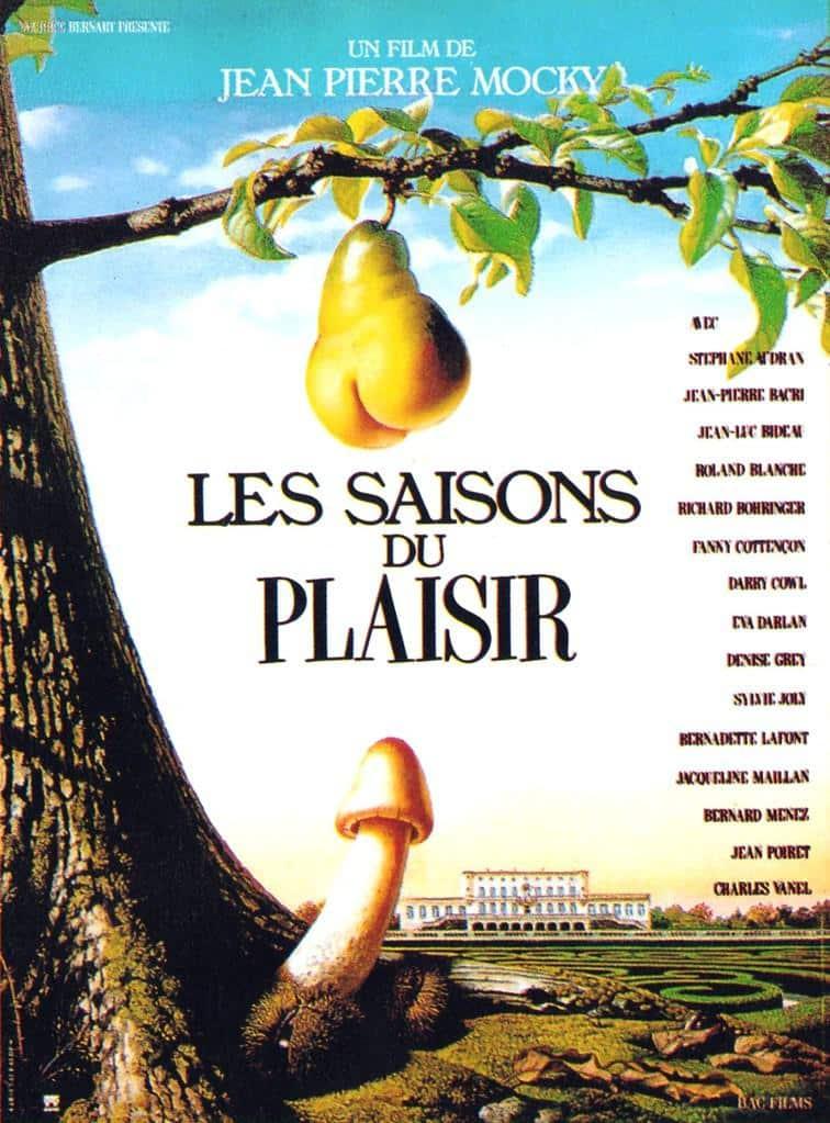 Affiche du film Les saisons du printemps de Jean-Pierre Mocky
