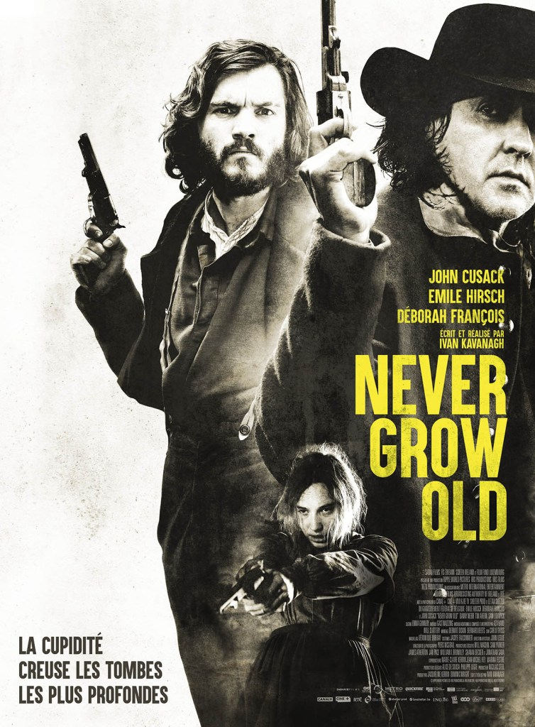 Never Grow Old : affiche du western