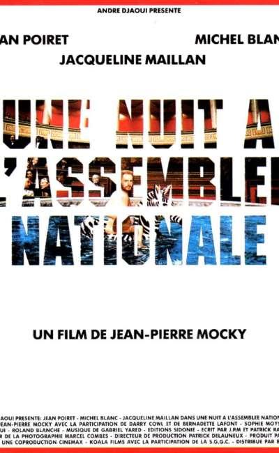 Une nuit à l'Assemblée nationale, l'affiche