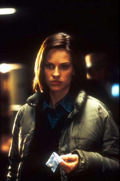 Hilary Swank dans Insomnia de Christopher Nolan