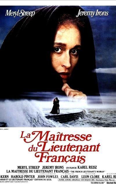Affiche de La maîtresse du lieutenant français de Karel Reisz