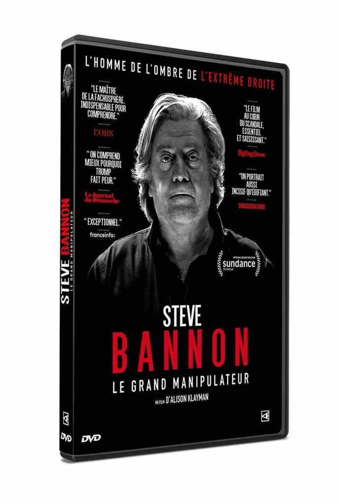 Jaquette Dvd de Steve Bannon le grand manipulateur