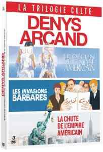 Coffret DVD Denys Arcand, la jaquette