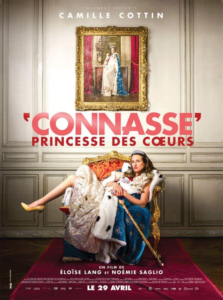 Affiche de Connasse Princesse des Coeurs avec Camille Cottin