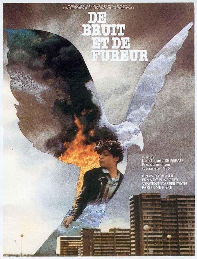 De bruit de fureur affiche cinéma originale