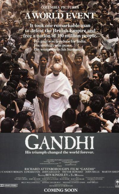 Affiche de Gandhi de Richard Attenborough