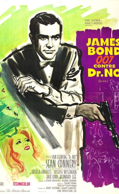 James Bond 007 contre Dr No, l'affiche