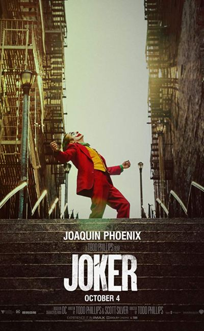 Affiche de Joker de Todd Phillips