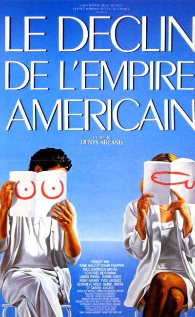 Le déclin de l'empire américain, l'affiche