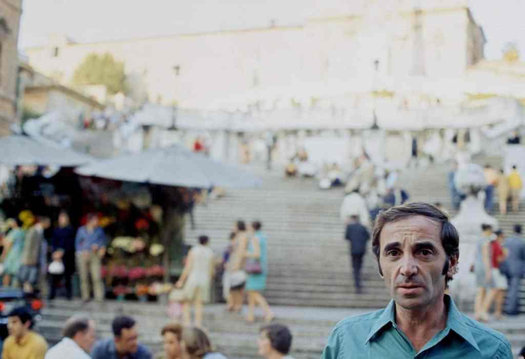 Une photo inestimable de Charles Aznavour dans Le regard de charles