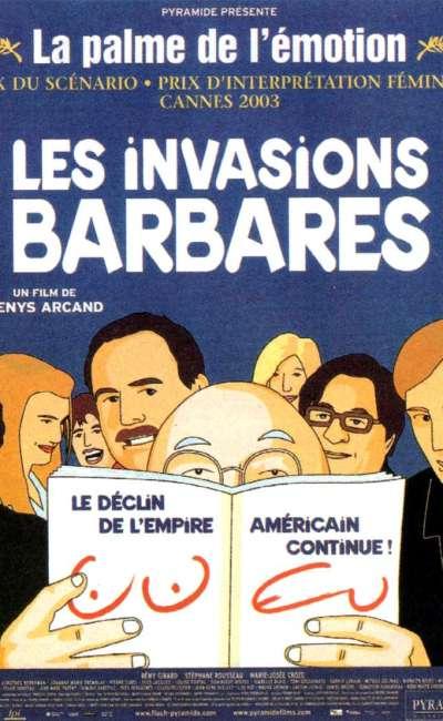 Les invasions barbares, l'affiche