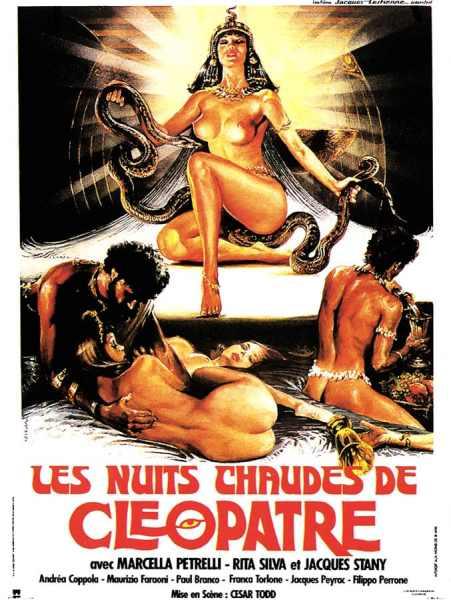 Les nuits chaudes de Cléopâtre, affiche Nick Ferrari