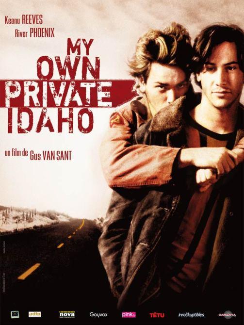 Affiche française (reprise) de My Own Private Idaho de Gus Van Sant