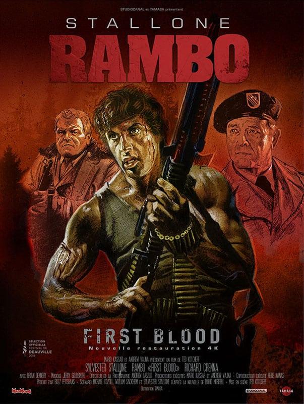 Rambo revient en 2019, affiche