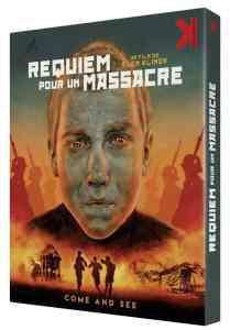 Requiem pour un massacre, jaquette blu-ray