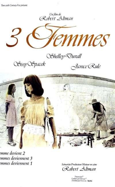 Trois femmes d'Altman, l'affiche