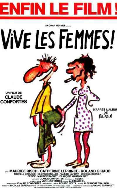 Affiche de Vive les femmes par Reiser
