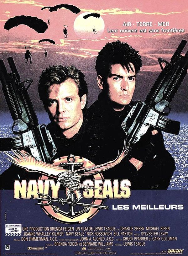 Affiche de Navy Seals, avec Charlie Sheen et Michael Biehn