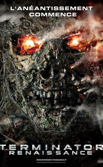 Affiche teaser de Terminator Renaissance de MCG