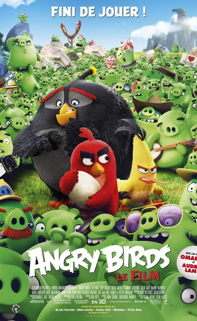 Angry Birds affiche cinéma