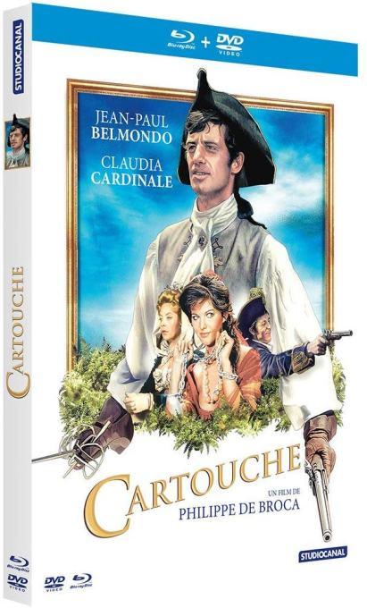 Edition vidéo de Cartouche 2019 (Belmondo)