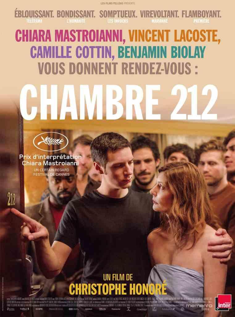 Affiche de Chambre 212, de Christophe Honoré