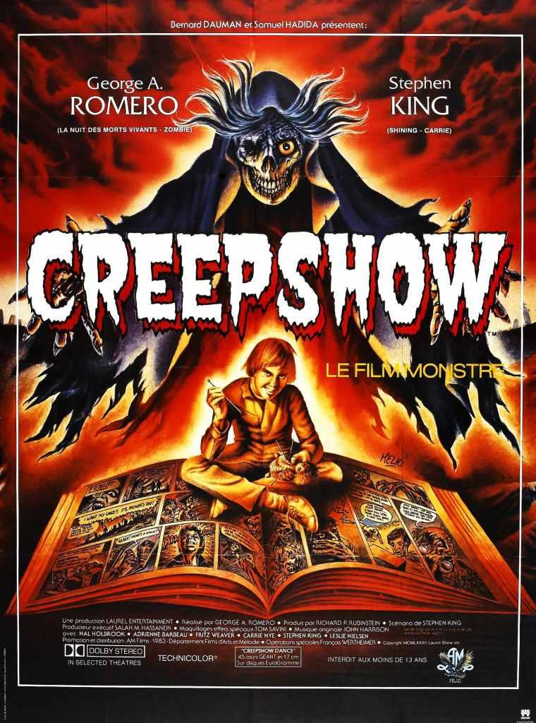 L'affiche du film culte Creepshow par Melki