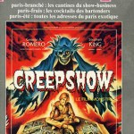 Le Pariscope du 22 juin 1983, avec Creepshow en couverture