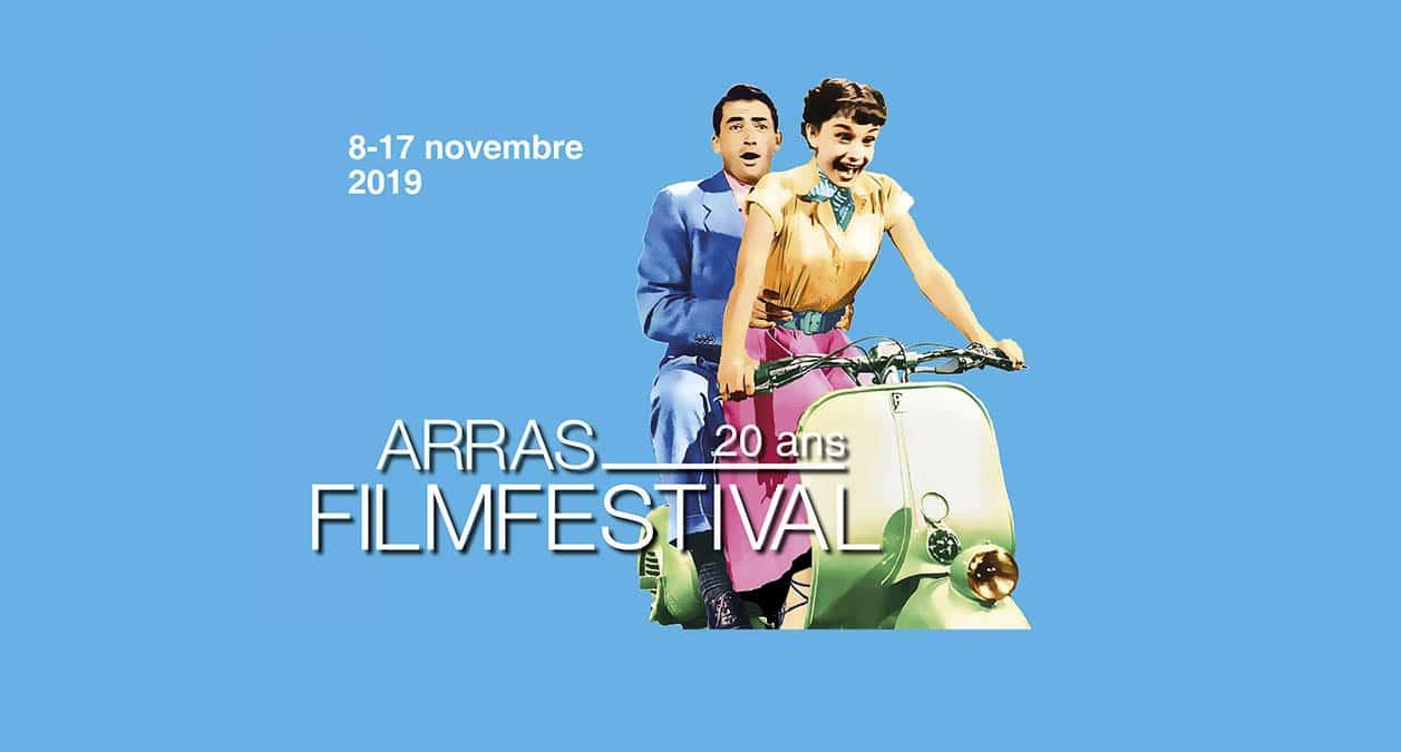 Affiche du festival d'Arras 2019 : la célébration des 20 ans