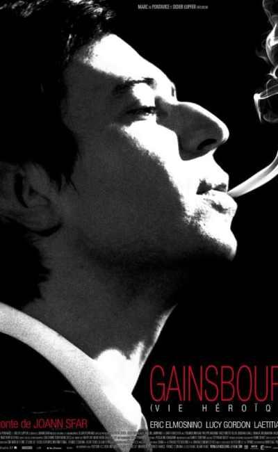 Affiche de Gainsbourg (Vie héroïque) de Joann Sfar