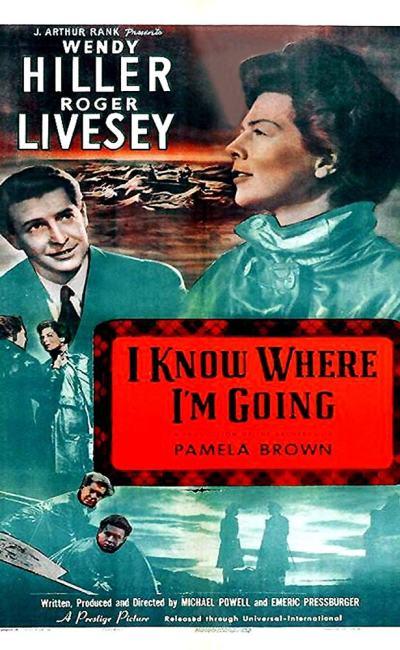 Affiche de I Know Where I'm Going de Michael Powell et Emeric Pressburger