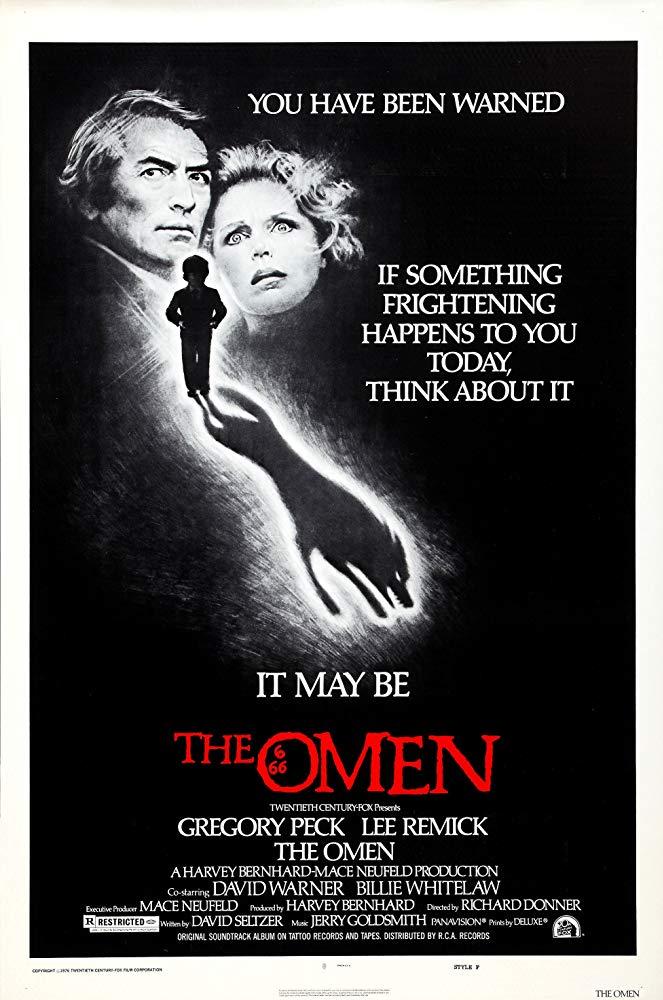 Affiche américaine de La Malediction, The Omen