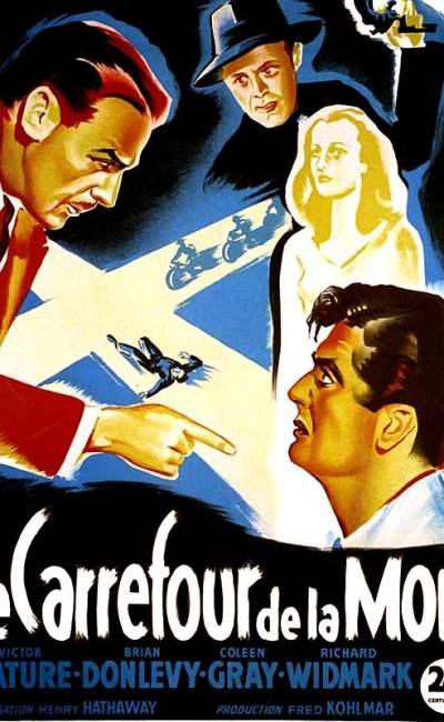 Affiche de Le Carrefour de la mort de Henry Hathaway