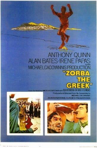 Affiche de Zorba le Grec de Michael Cacoyannis