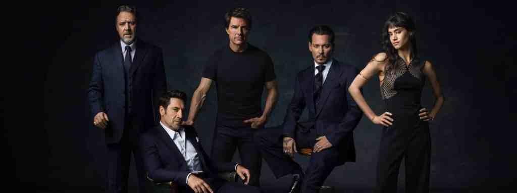 Tom Cruise, Johhny Depp et les autres stars du Dark Universe