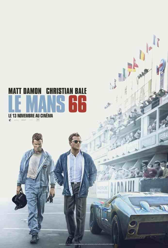 Affiche française du film de James Mangold, Le Mans 66
