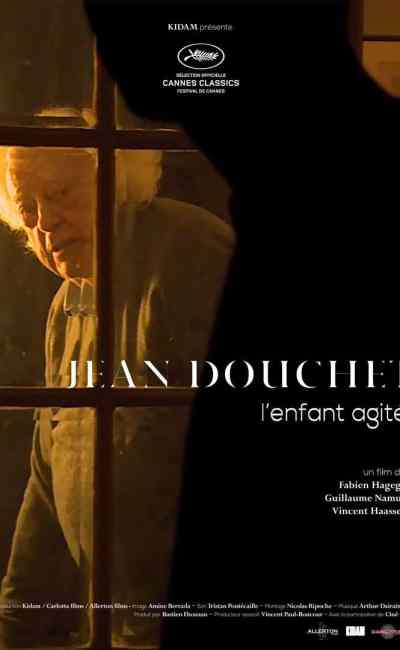 Affiche de Jean Douchet, l'enfant agité