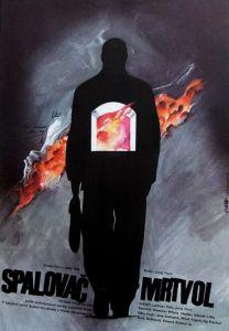L'incinérateur de cadavres, l'affiche tchèque