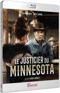 Le justicier du Minnesota, la jaquette du blu-ray